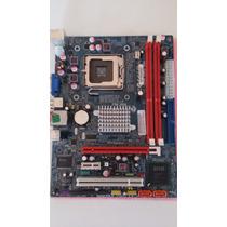 Placa Mae Ecs G41t-m7 Lga 775 Ddr3 Usada Ok P/ Quad Core