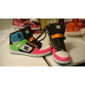 Tenis Dc Skate & Lifestyle Shoes Mujer # 26 Nuevos Sin Caja