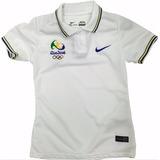 Camisa Seleção Brasileira Feminina Torcedor F Grátis