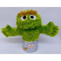 Peluche Muppet Oscar Plaza Sésamo Títere Regalo 14 Febrero
