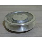 Polia De Alumínio 1 Canal A - Diâmetro De 60mm