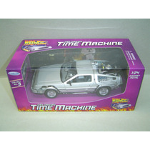 Delorean Back To The Future 1 - Time Machine - Welly 1/24