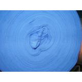 Pique Azul Fcia Peinado, Ancho 140 Cm X2 Tubular Vta X Kg