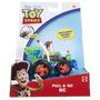 Toy Story Tire Y Woody Y Vehículo De Rc
