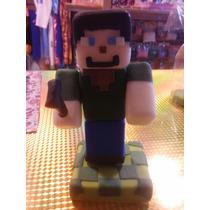 Adorno Para Torta Porcelana Minecraft!!!
