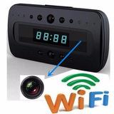 Camara Espia Reloj Wifi Ip Hd Oculta Inalambrica Celular 24h