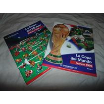2 Libros - Mexico Copa Mundial 1998 - Mexico 86
