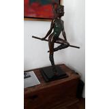 Escultura Bronce Bailarina Javier Villareal