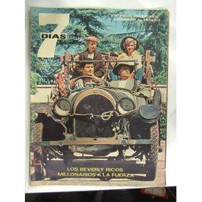 Revista 7 Dias N 77 1966 Beverly Ricos Millonarios La Plata