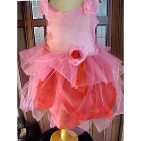 Disfraz De Rosseta -hada De Las Flores- Completo