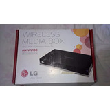 Media Box Wireless Da Lg Mod. An-wl100 - Novo