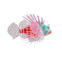 Enfeite Para Aquário Flutuante Peixe Leão Colorido