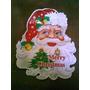 Afiche San Nicolas O Santa Claus Con Detalles En Relieve