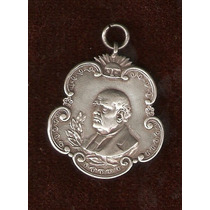 Medalla De Plata De D.f.sarmiento Mendoza 1911