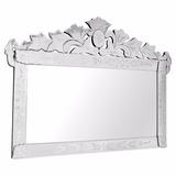 Espelho Veneziano Grande Decorativo Provençal Para Casa Sala