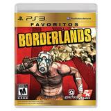 Borderlands Favoritos Ps3, Nuevo Y Sellado