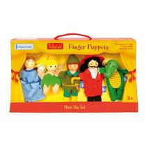 Marioneta De Dedo Peter Pan Fiesta Crafts P/niños 5 U.