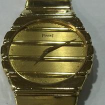 Relógio Masculino Piaget Polo Em Ouro 18k-750