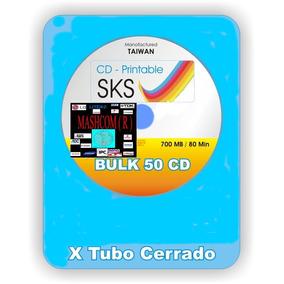 Cd Virgen Sks Imprimibles 52x 700mb. 80min. X 100 Unidades