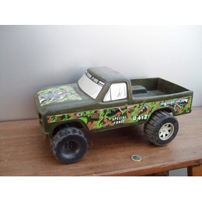 Antiguo Juguete Camioneta Caucho Ford F 100 Marca Plaf Ind A