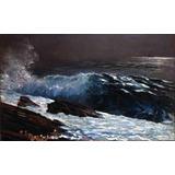 Lienzo Tela Luz En La Costa Winslow Homer 1890 50 X 81 Cm