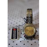 Reloj Mujer Vintage Citizen 17 Jewels Automatico Acero Inox