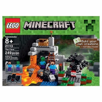 Lego Minecraft 21113 249 Piezas Mejor Precio!!