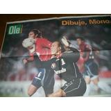 Poster Navarro Montoya- Independiente (078) Ole
