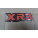 Insignia Emblema Xr3 Rojo De Ford Escort 88/92 Nueva!!
