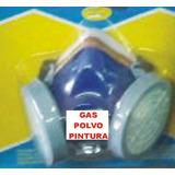 Mascara Gas 2 Filtros Polvo Pintura C/filtros Y Sujetador $