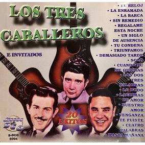 Cd Los Tres Caballeros E Invitados 20 Exitos R Cantoral Gil