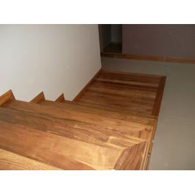 de escaleras de madera artesanal