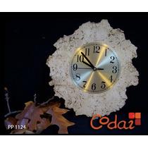 Codia Reloj De Pared En Pasta Piedra - Decoración - Arte