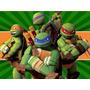 Kit Imprimible Tortugas Ninjas Diseña Tarjetas Invitacion 1