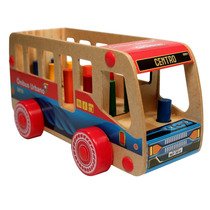 Ônibus Urbano Madeira Brinquedo Carimbras