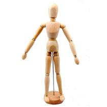 Boneco Manequim Articulado 30 Cm Desenho