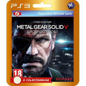 Metal Gear Solid V Ground Zeroes (cód Id Ps3)