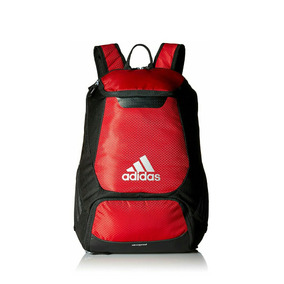 Morral Bolso Adidas Stadium Backpack Rojo Original