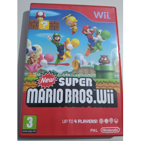 New Super Mario Bros.wii Pal - Europeu Original Completo!