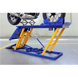 Kit Oficina De Moto Elevador Hidraulico E Bancada