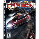 Need For Speed Carbon Ps3 - Juego Fisico - Prophone