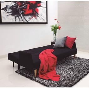 Sofacama Multifuncional Moderno Con Portavasos En Tela Lutan