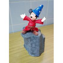 Mickey Mouse - Fantasia, Para Torta En Porcelana Fria