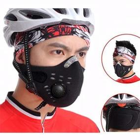 Mascara Para Correr De Neopreno 2 Filtros De Aire Ajustables