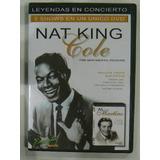 Dvd Nat King Cole 2 Shows En Un Solo Dvd En La Plata