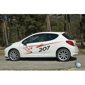 Calco Peugeot 207 Rally Medidas Oficiales - Ploteo