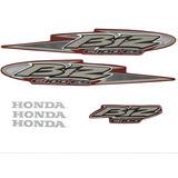 Kit Adesivos Honda Biz C 100 Es 2005 Vermelha