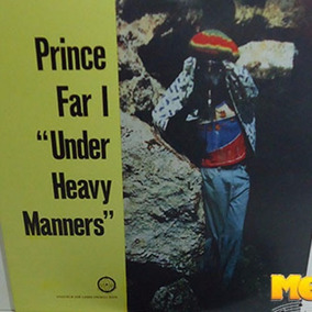 Prince Far I 1977 Under Heavy Manners Lp Importado Joe Gibbs