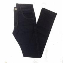 Calça Masculina Jeans Black And Blue Skinny Elastano 38 Ao48