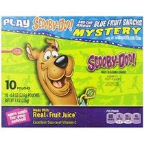 Formas De Frutas Scooby Doo 10-0,8 Bolsas Onzas (paquete De